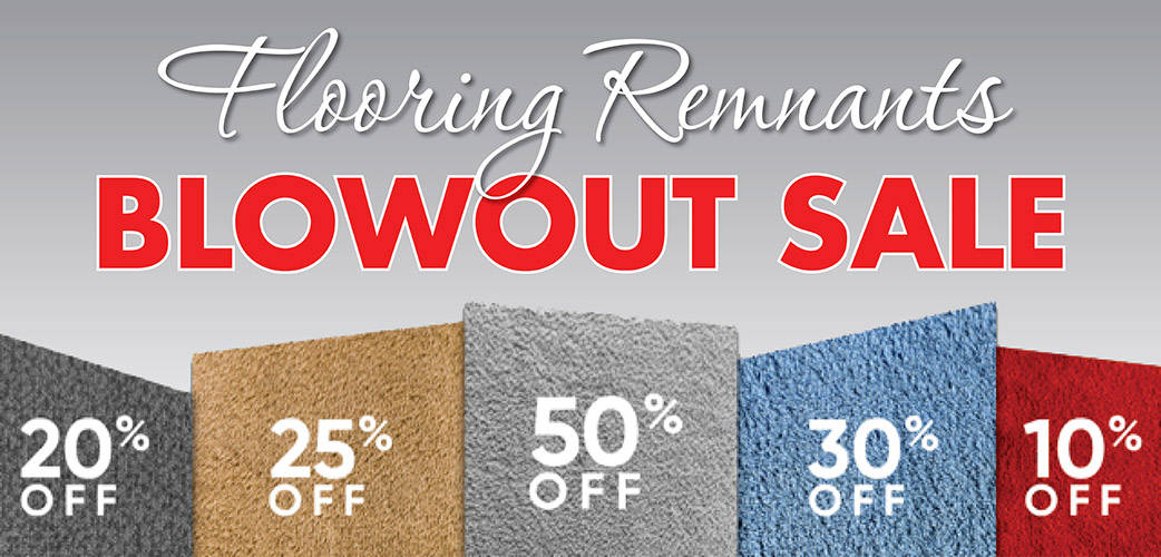 Carpet remnants blowout sale