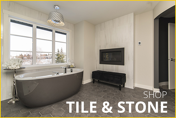 Shop tile and stone